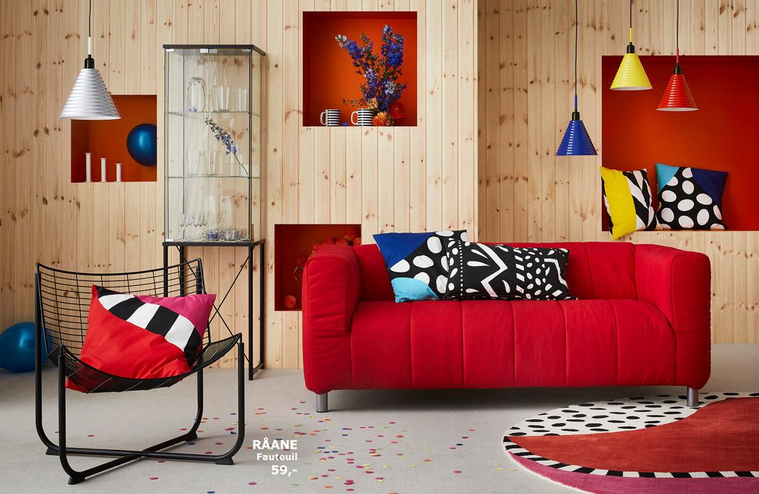 IKEA célèbre les années 70-80 avec la collection GRATULERA