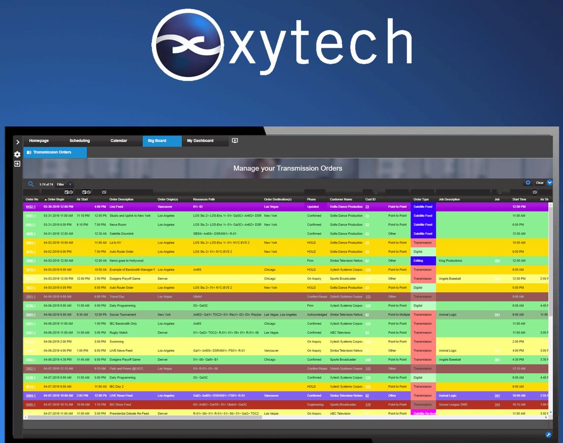 NAB Show New York: Xytech Now Shipping Latest Updates to MediaPulse 2019