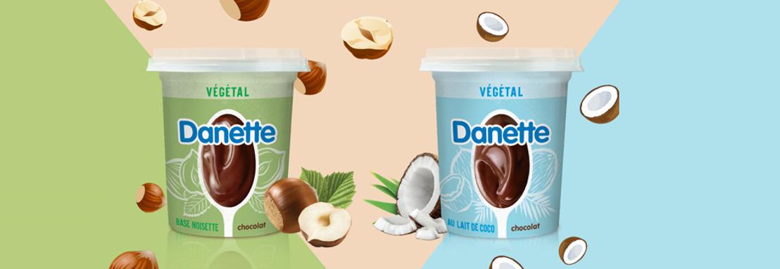 Danone gaat voor het eerst plantaardige toer op met iconische Danette