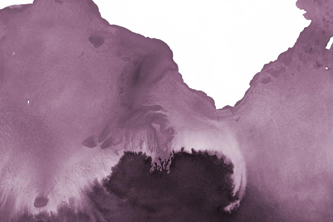 Pseudo Purple Watercolour | Swatch