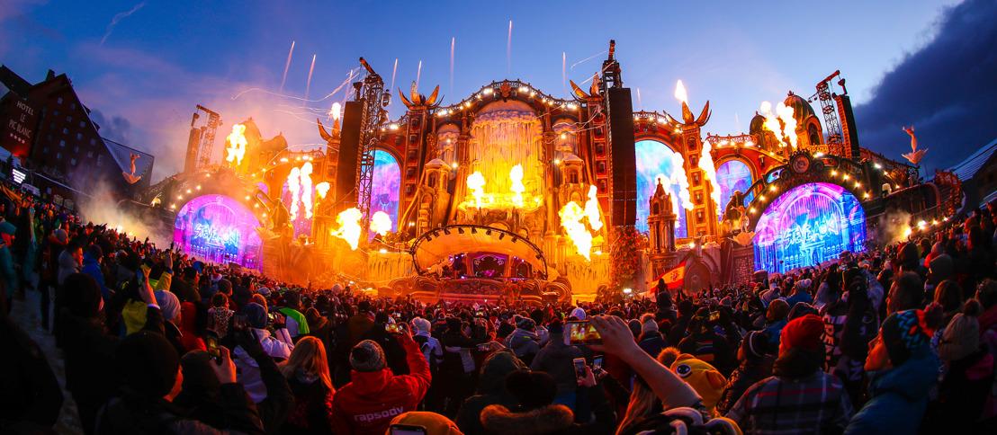 Tomorrowland Winter zet beperkt aantal dagtickets in verkoop