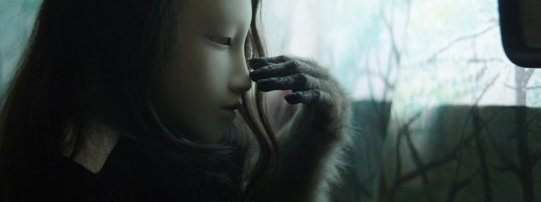 Pierre Huyghe, (Untitled) Human Mask, 2014, Courtesy of the artist; Marian Goodman Gallery, New York; Hauser & Wirth, London; Esther Schipper, Berlin; and Anna Lena Films, Paris