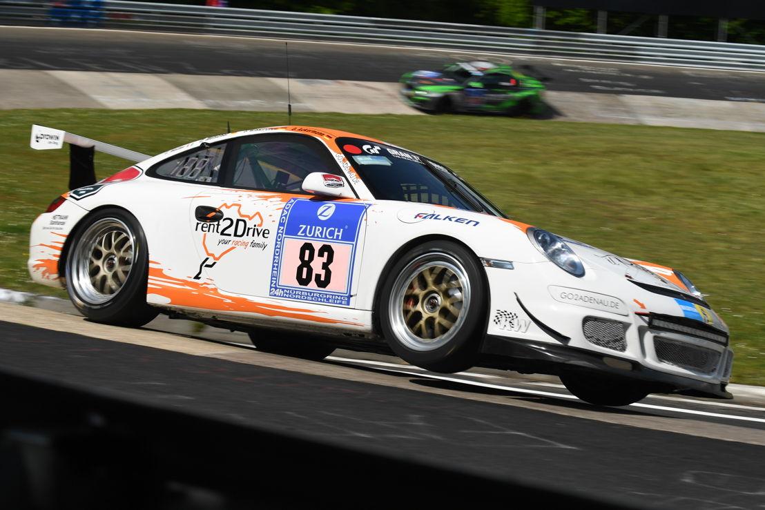 Porsche GT3 Cup (83), rent2Drive-racing: David Ackermann, Carsten Welschar, Jörg Wiskirchen, Csaba Walter