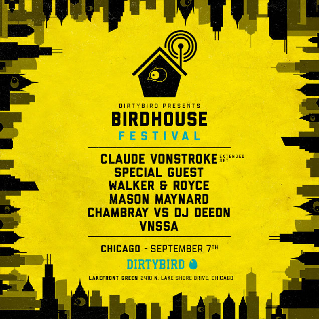 DIRTYBIRD Announces Lineup for Second Birdhouse Festival
