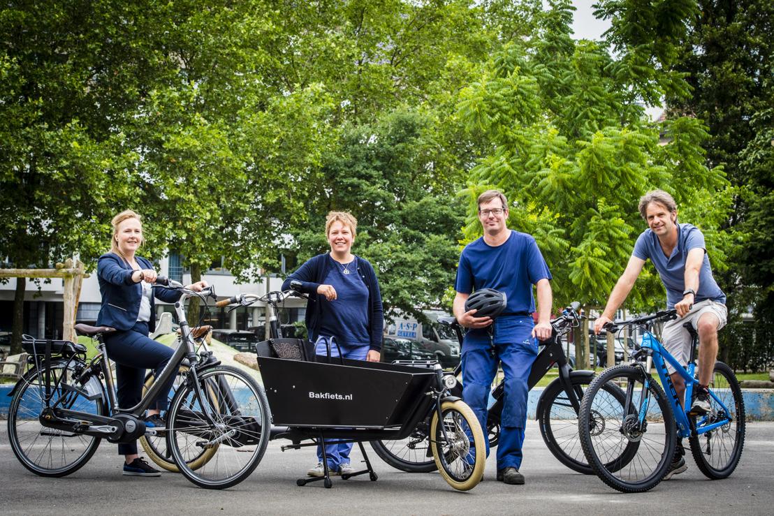 Aquafin krijgt 200 werknemers op de fiets