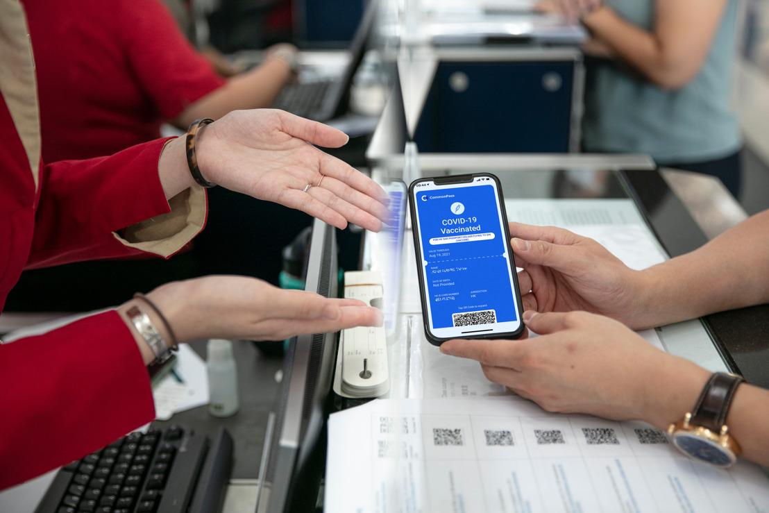 國泰航空完成首項 點到點全程數位健康通行證測試