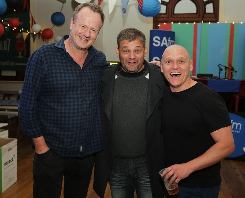 Fringe Club with Tony Lankester, Alan Committie and Rob van Vuuren - credit Nardus Engelbrecht Cape Town Fringe 2016