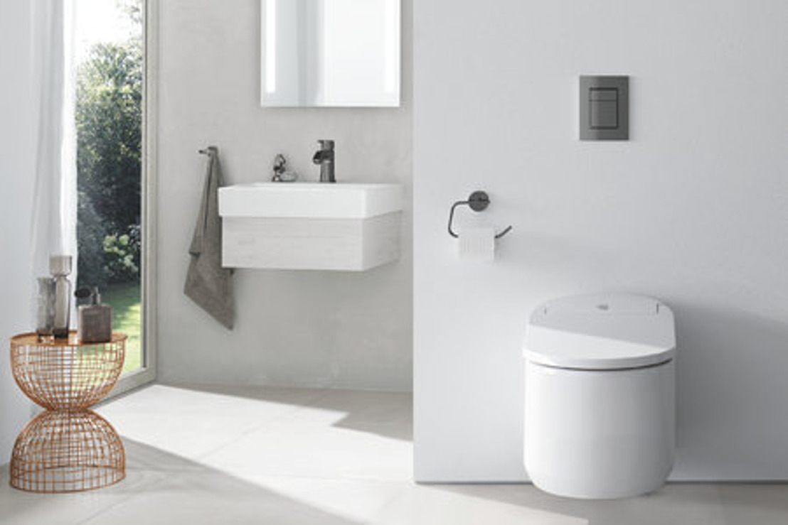 Simple fonctionnalité ou facilité d'utilisation extrême : le WC-douche GROHE offre le nec plus ultra en matière d'hygiène