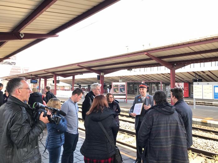 Persbericht: NMBS gaat op zoek naar nieuwe Limburgse treinbegeleiders