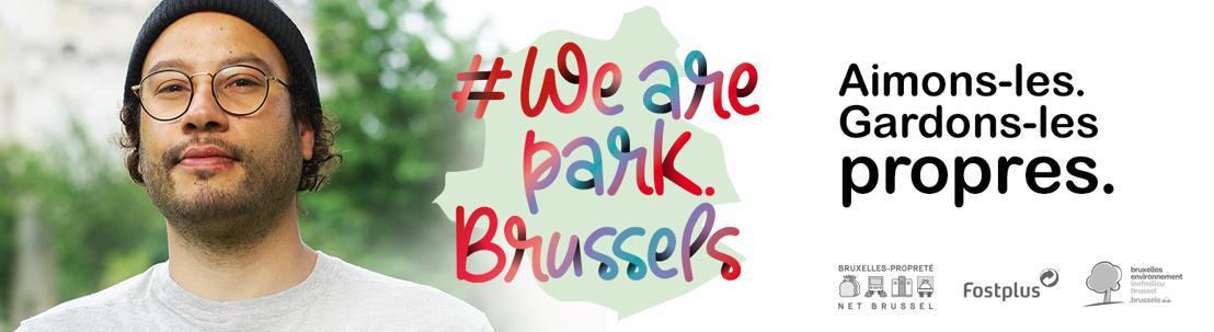 #Wearepark.Brussels : Nous aimons nos parcs, gardons-les propres !