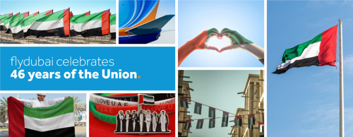 flydubai celebrates National Day