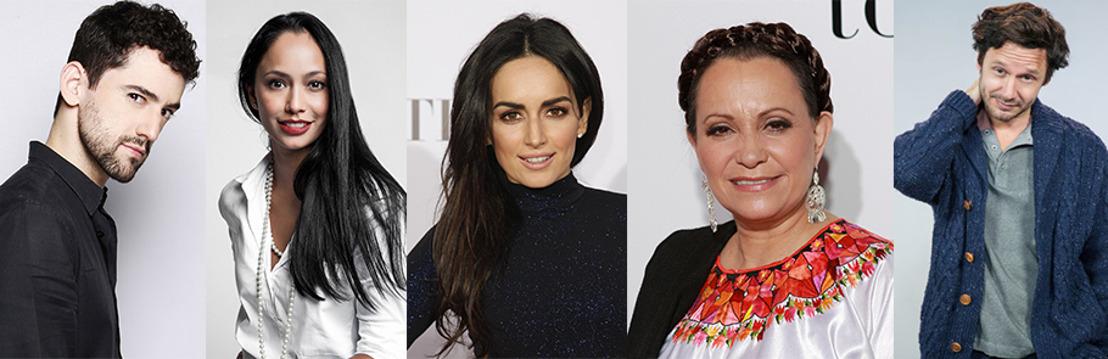 Adriana Barraza, Ana de la Reguera, Benjamín Vicuña, Maya Zapata y Luis Gerardo Méndez, entre otras personalidades, confirman su asistencia a los Premios Fénix 2016