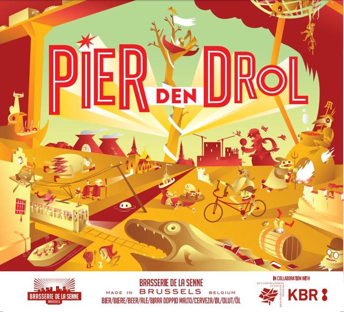 Lancement de la bière « Pier den Drol » à KBR