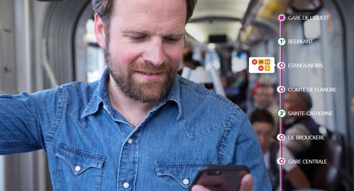Prophets en MIVB rollen nieuwe app uit.