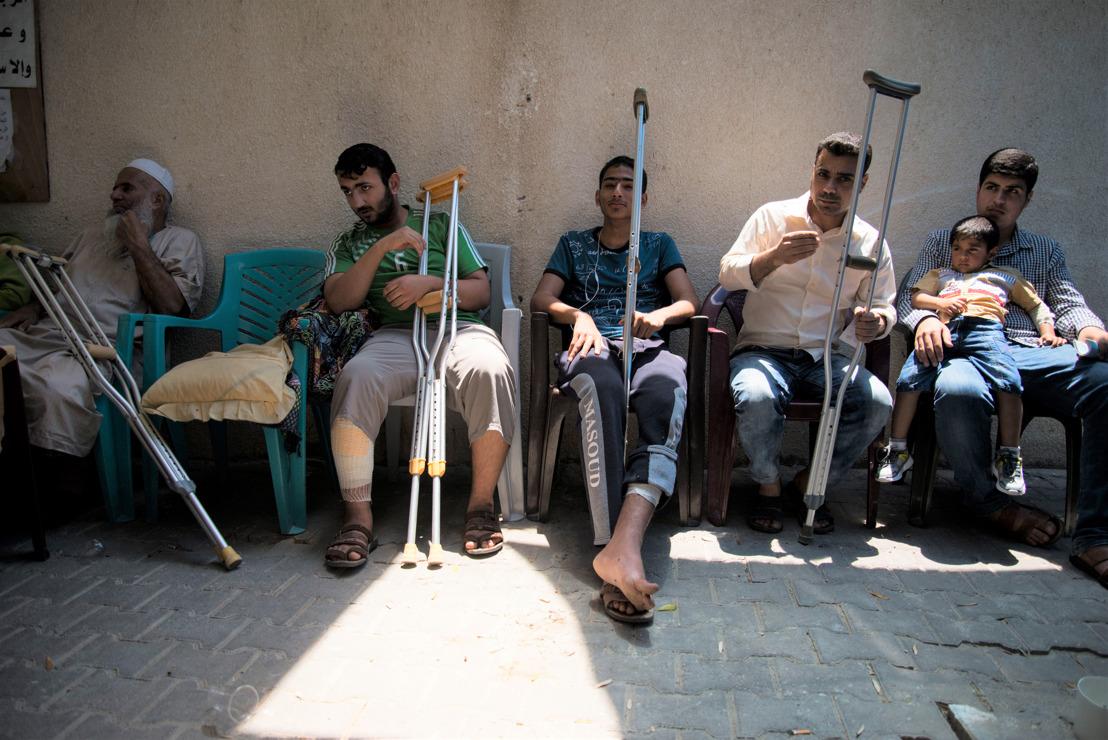 Sous blocus et en isolement : le quotidien des blessés souffrant d'infections à Gaza