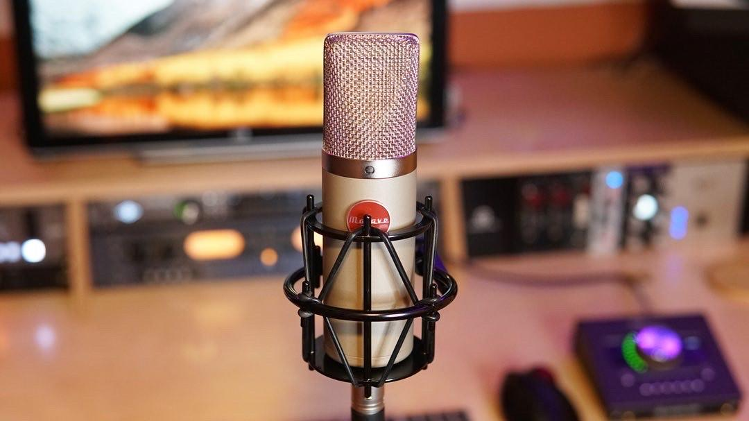 """""""Tube microphones really capture those natural sounds I'm after while also giving it a real warmth and girth before we go into the interface."""""""