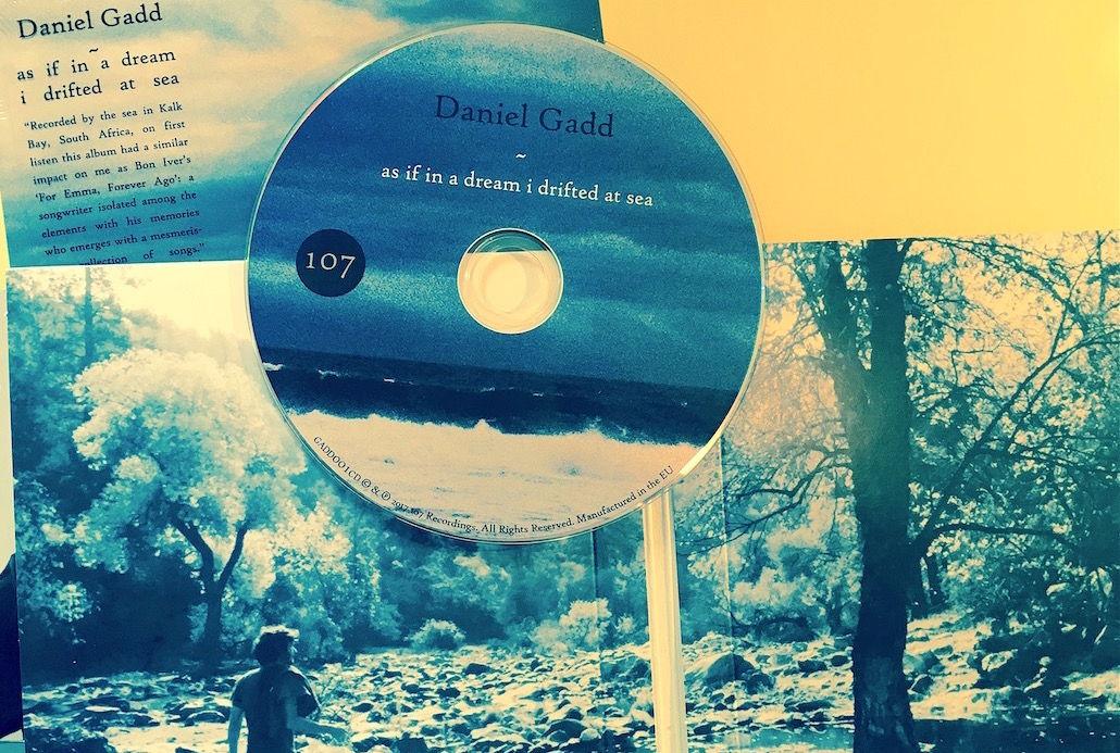 Daniel Gadd As If In A Dream CD package