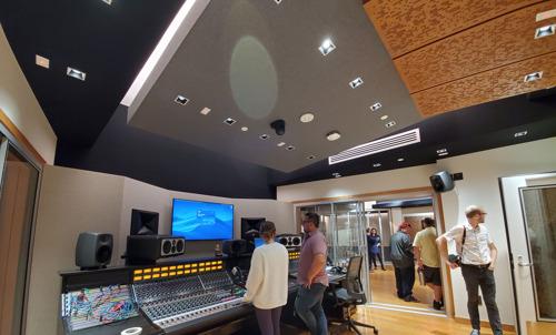 Concordia University Irvine's New WSDG-Designed Recording Studio Teaching Complex