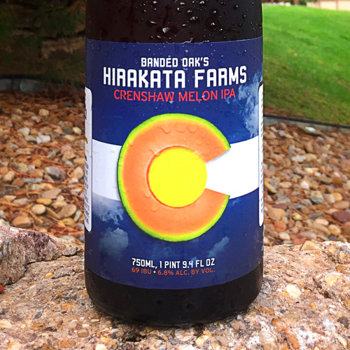 Rocky Ford's Hirakata Farms celebrates the end of the 2018 season with release of Banded Oak's Hirakata Farms Crenshaw Melon IPA