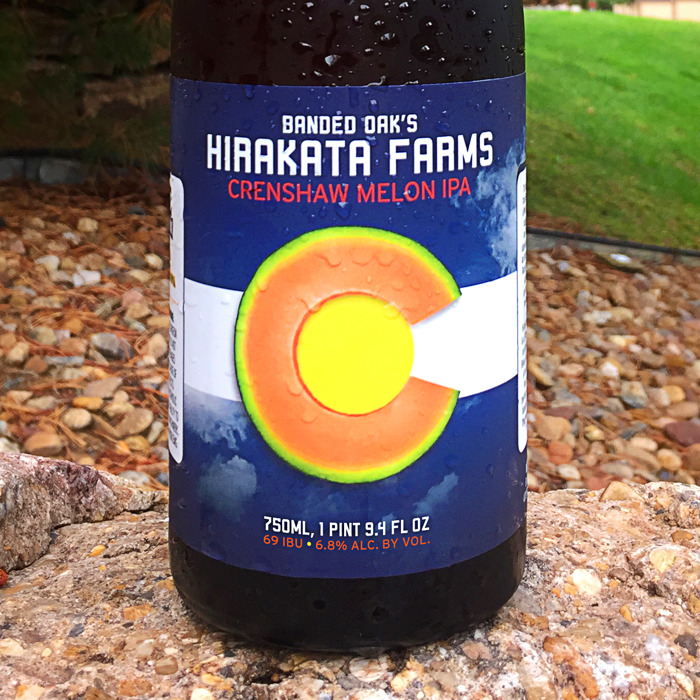 Preview: Rocky Ford's Hirakata Farms celebrates the end of the 2018 season with release of Banded Oak's Hirakata Farms Crenshaw Melon IPA