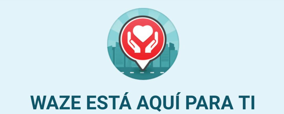 Encuentra ayuda y evita las zonas afectadas por la tormenta tropical con Waze