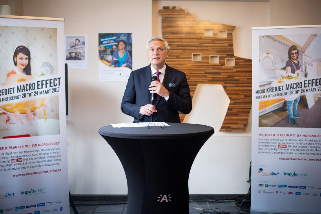Kris Peeters (Vice-eersteminister en Minister van Werk)