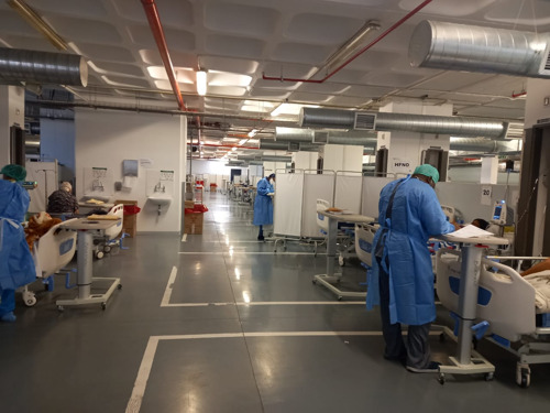 EASTERN CAPE: MSF extends support to Livingstone Hospital for another month amid COVID-19 surge in Nelson Mandela Bay