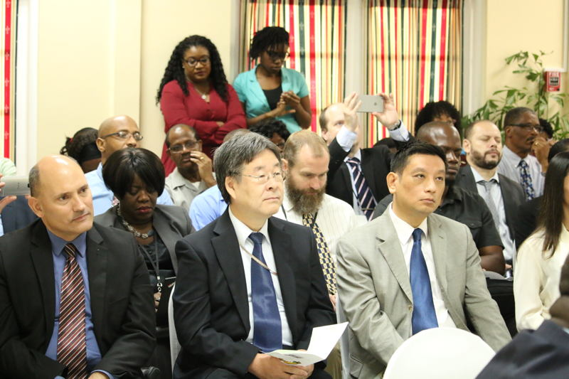 Members of the Diplomatic Community attended the opening session