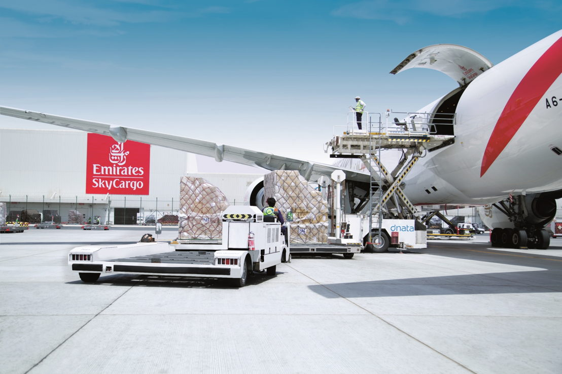 Emirates SkyCargo received Cargo iQ certification following an external audit conducted by SGS