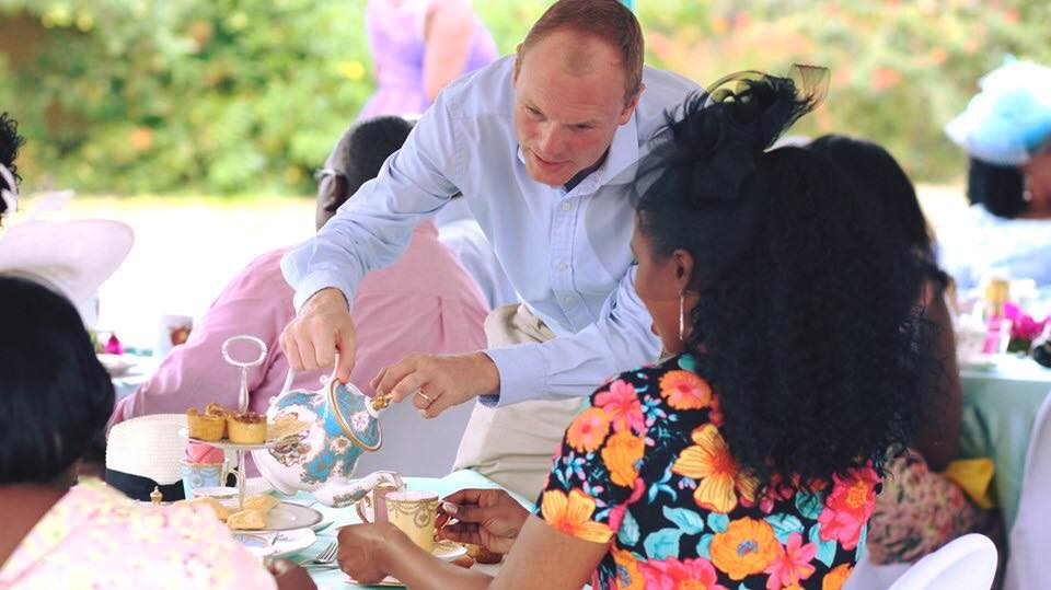Governor of the BVI, H.E. Augustus Jaspert (pictured), is a loyal customer of Herbal Immense teas, ordering for office and government events.