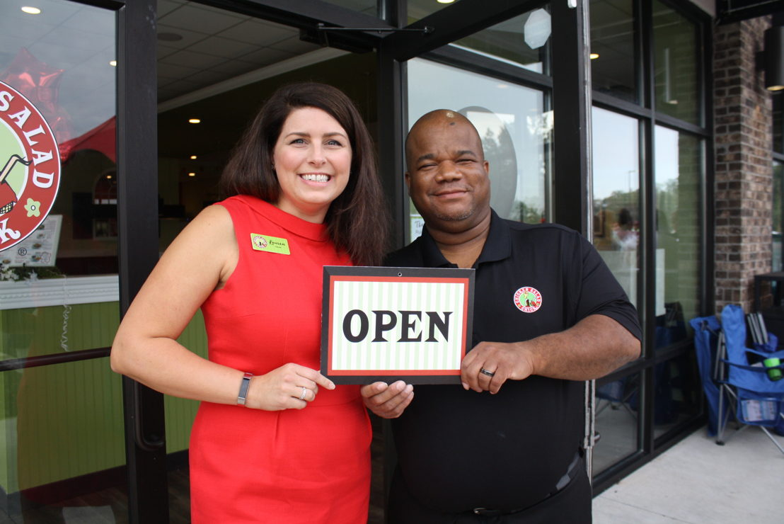 Lauren Fernandez, owner and General Manager Corey Culbreath (credit Henry County Chamber of Commerce)