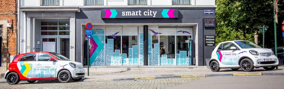 smart in hartje Brussel