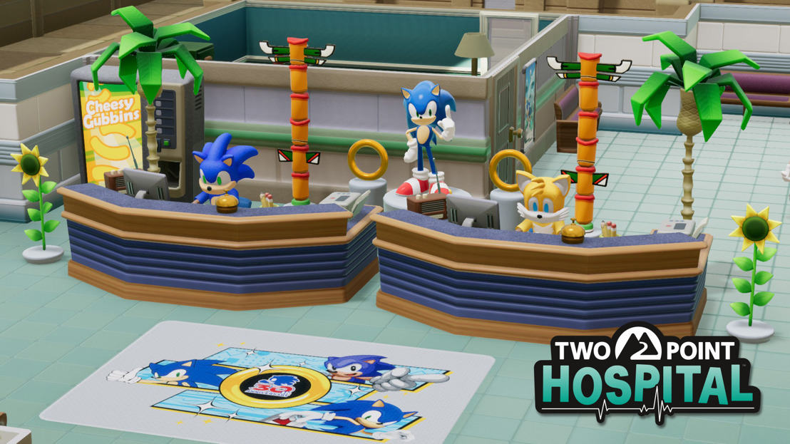 Gotta Cure Fast - Sonic, Meet Two Point Hospital!
