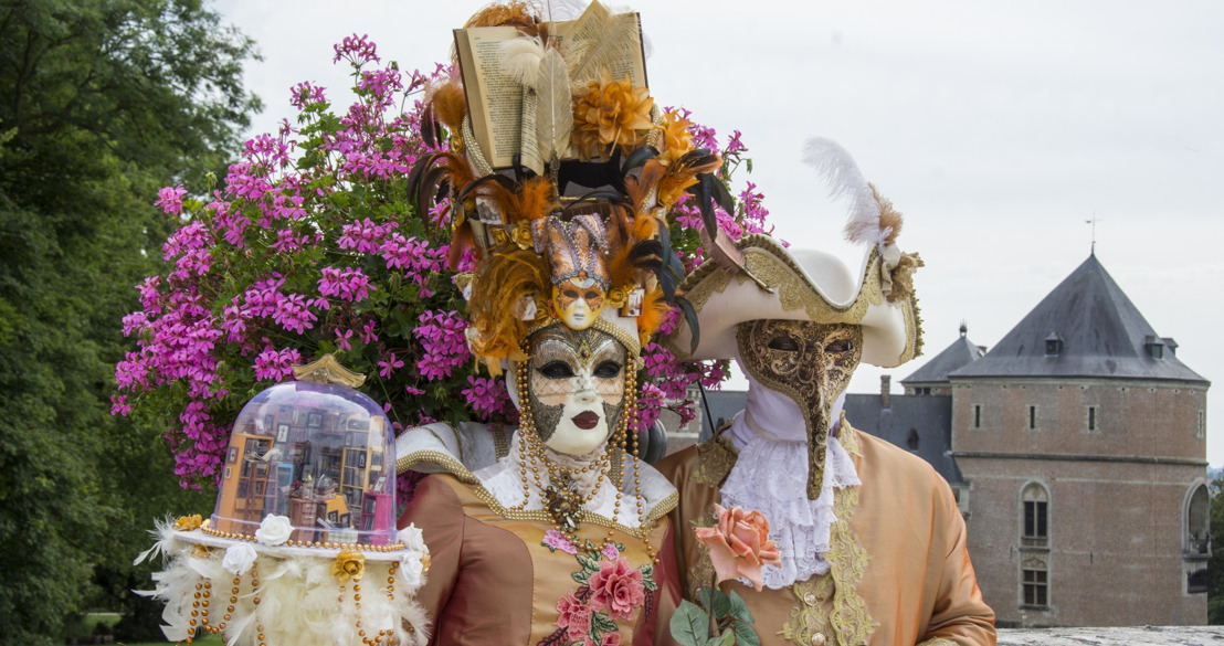 Venetiaanse maskers keren zondag terug naar domeinen van Groenenberg en Gaasbeek