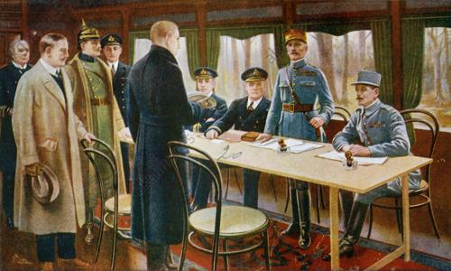 1918 Kriegsende