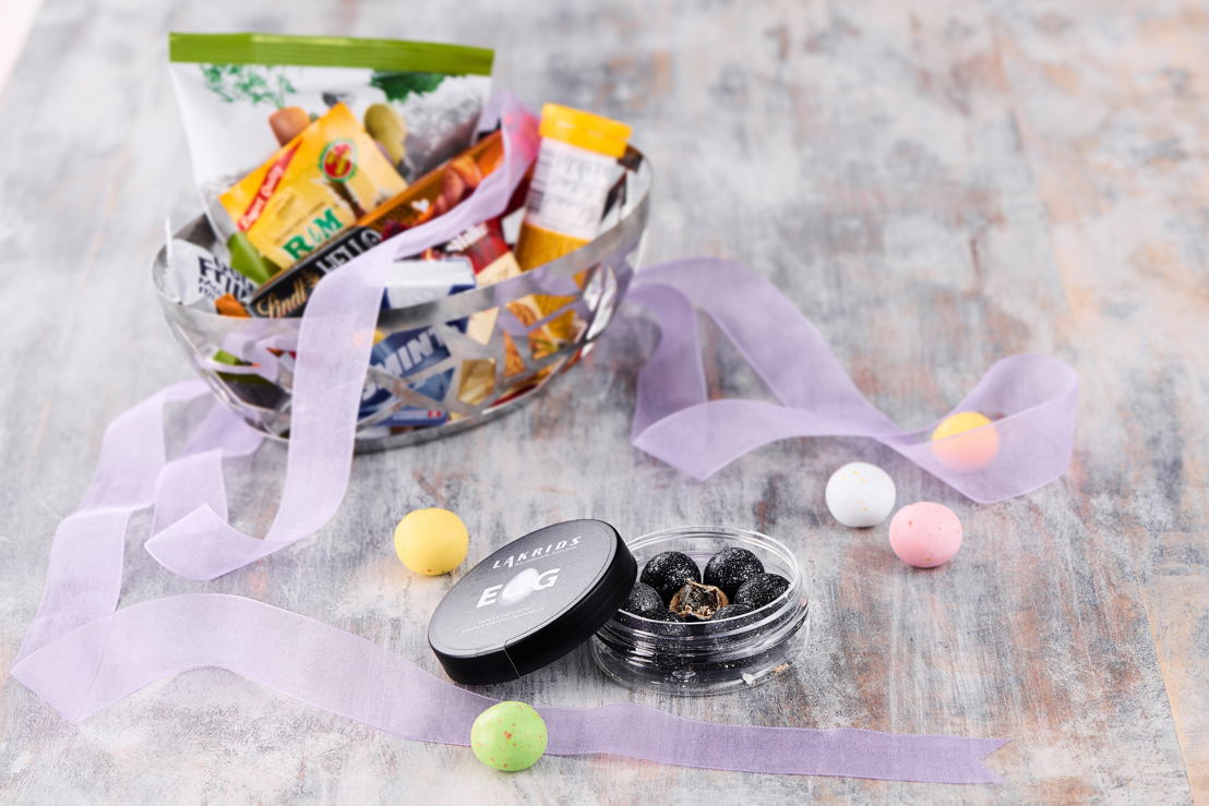 "First Class customers can also look forward to a special Easter edition of the Lakrids ""Egg"" Dulce de Leche Liquorice Balls in their personal goodie baskets."