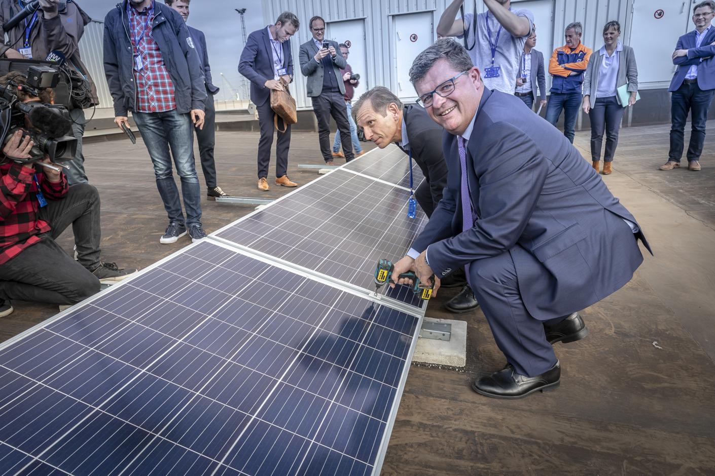 15.000 zonnepanelen voor Volvo Car Gent: Volvo bouwt samen met Eneco aan duurzame toekomst