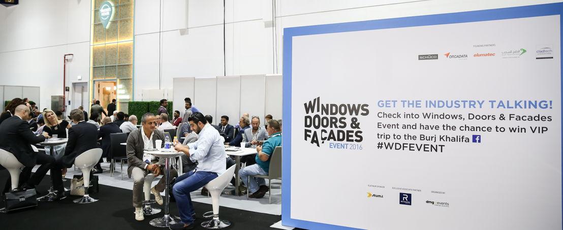 Windows, Doors & Facades Event 2016