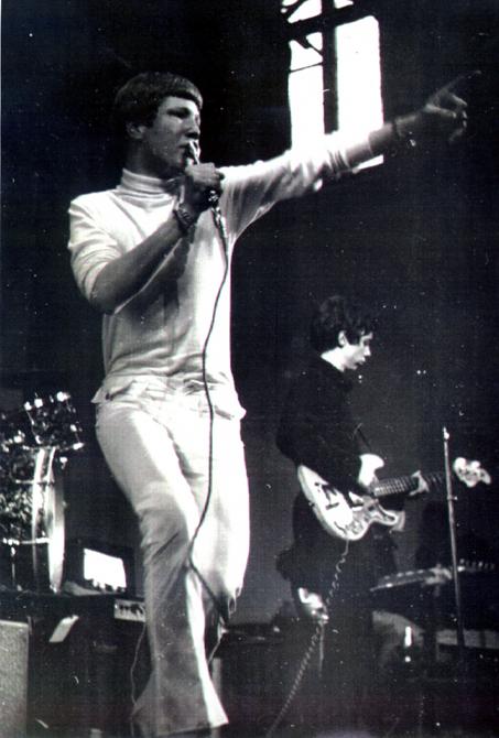 Richard Macphail - lead singer Anon (mid 1960s)