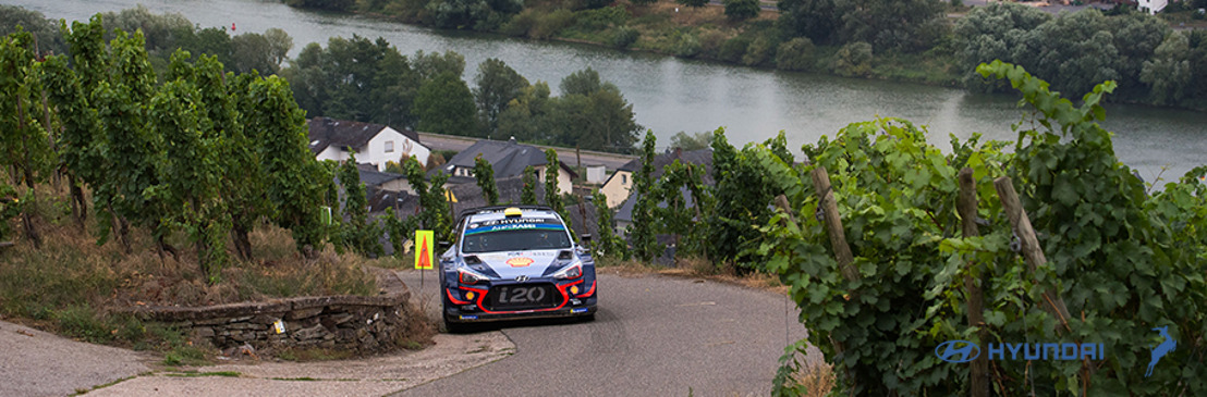 Hyundai Shell Mobis logra podio en el Rally de Alemania, con Thierry Neuville, y continúa como líder absoluto del WRC