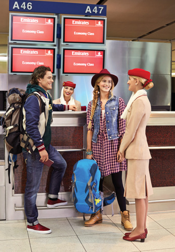 Emirates anticipates another peak period for travel just after New Year