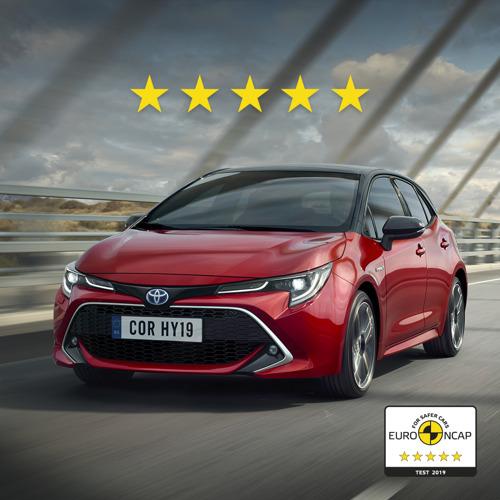 Les Toyota Corolla et RAV4 obtiennent 5 étoiles aux essais de sécurité Euro NCAP
