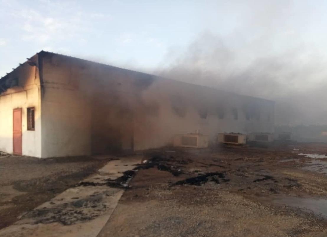 Un hospital de MSF queda parcialmente destruido tras un ataque aéreo en Yemen
