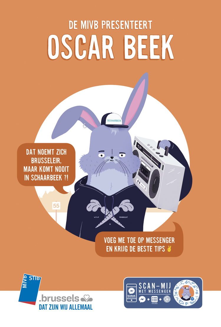 Oscar Beek advertentie