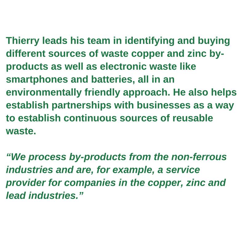 Green worker profile - Thierry van Kerckhoven