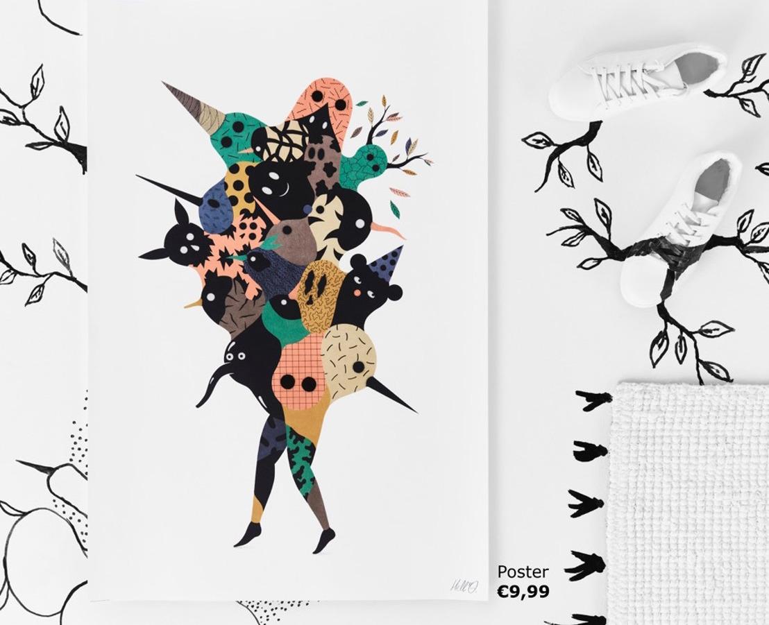 IKEA ART EVENT 2017: Internationale kunstcollectie met Brusselse tekentrots
