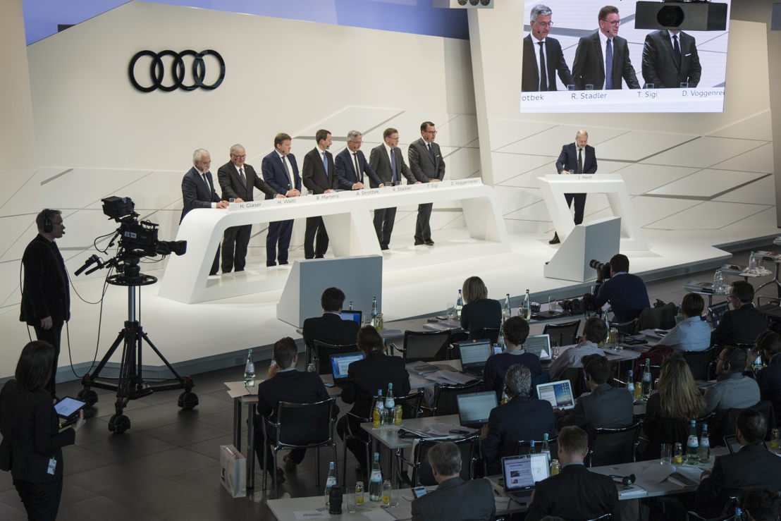 Annual Press Conference of AUDI AG 2017