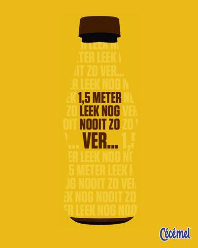 Cécémel en TBWA sturen alle Belgen een Warm Message in a Bottle