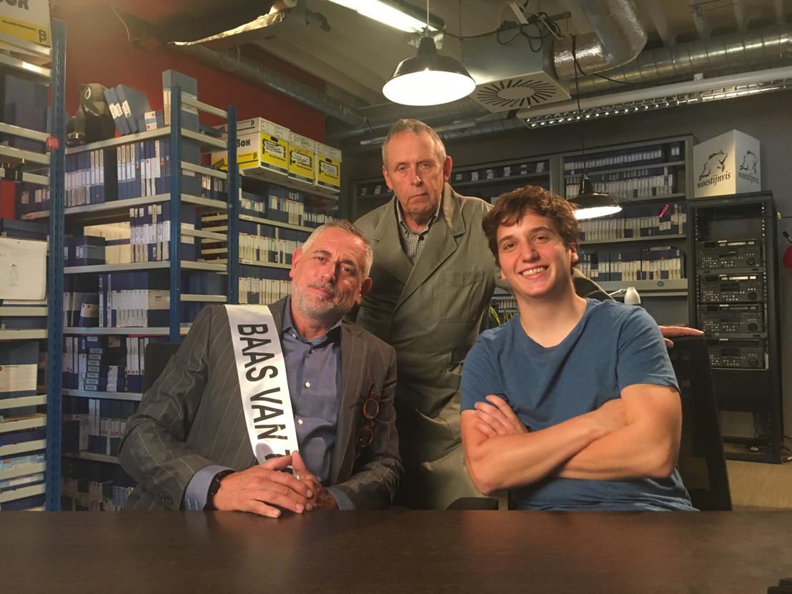 Peter Van Asbroeck op visite bij Thomas en Marc in 't Is Gebeurd