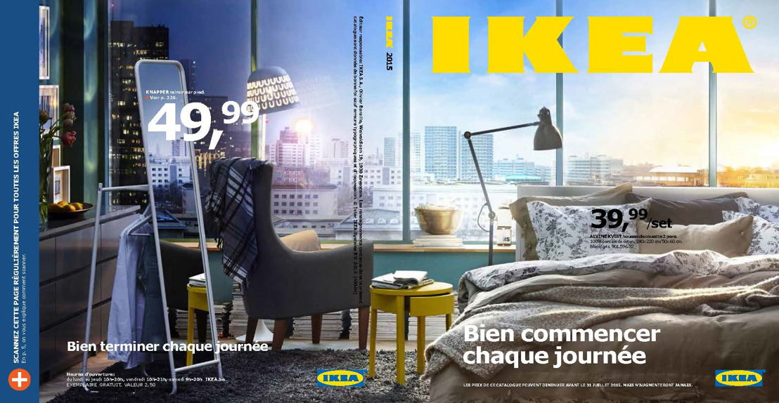 New Cover IKEA Belgium Catalogue